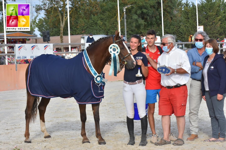 Sologn'Pony 2020 : la championne des 3 ans est franc-comtoise !