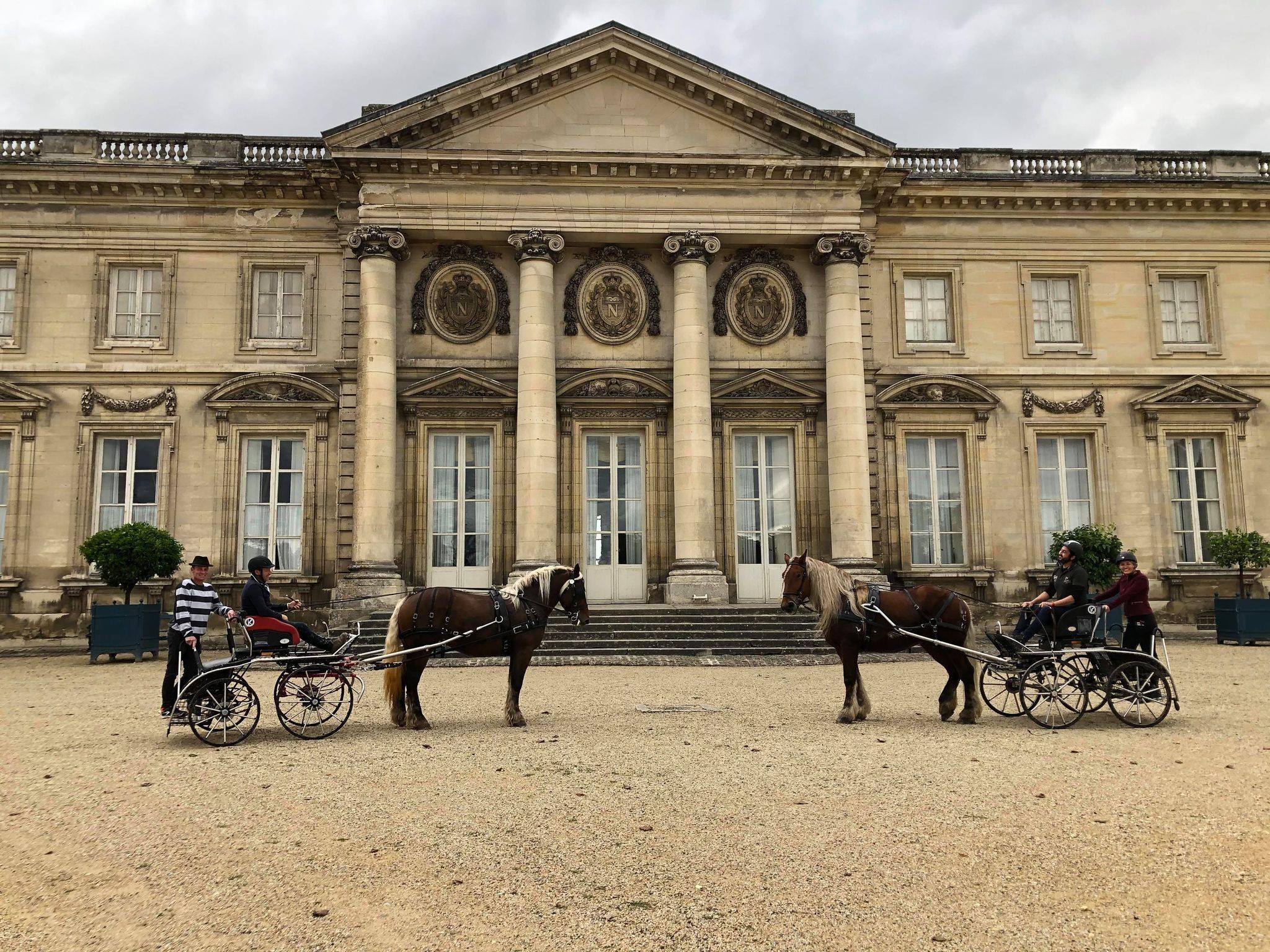 COMPIEGNE : Les résultats des attelages de Bourgogne Franche-Comté