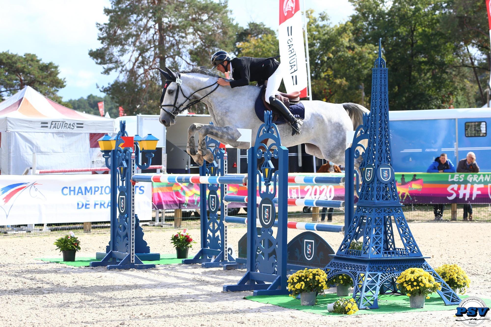 FONTAINEBLEAU : l'élevage sport de Bourgogne Franche Comté s'illustre par ses résultats en CSO