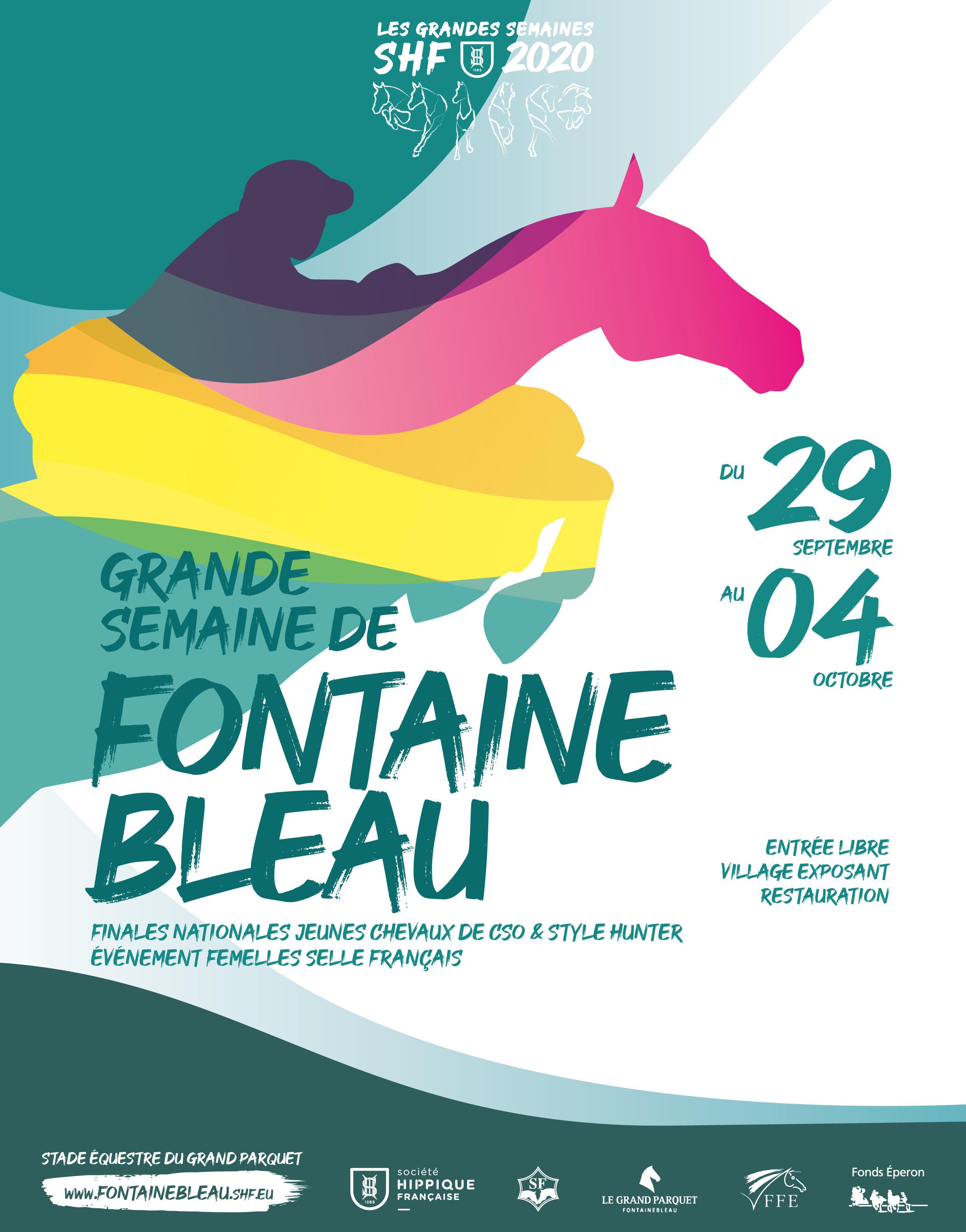 FONTAINBLEAU : des produits de Bourgogne Franche-Comté sur les podiums en dressage