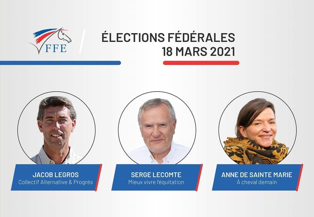 Les élections à la Présidence de la Fédération Française d'Équitation se déroulent jusqu'au 18 mars prochain.
