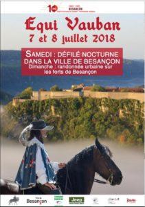 L'Equi'Vauban au départ du Haras National de Besançon