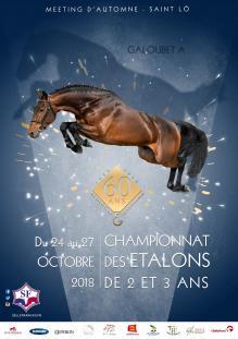 Résultats du Championnat des Étalons Selle Français de 2 & 3 ans