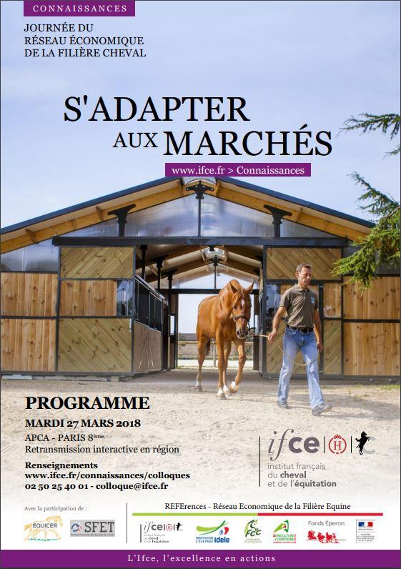 11ème Journée du Réseau Economique de la Filière Equine (REFErences) : S'adapter aux marchés