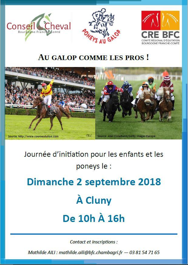 Courses : Journée d'initiation pour les enfants et les poneys