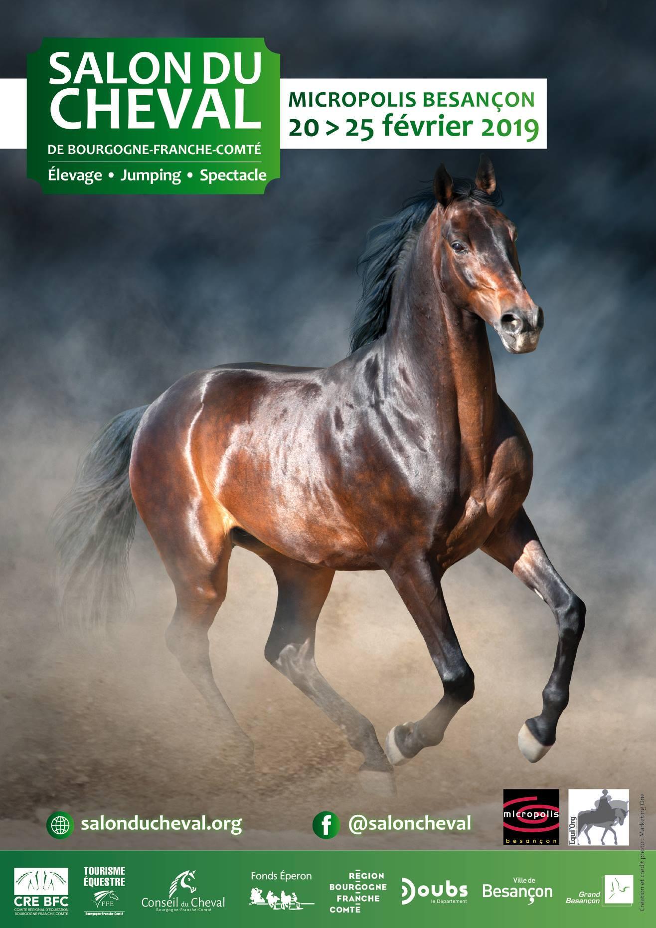 Salon du cheval de Bourgogne Franche-Comté 2019